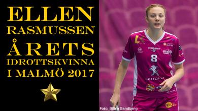Photo of Ellen Rasmussen årets idrottskvinna i Malmö