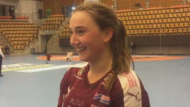Photo of TV: LUGI:s Oliva Löfqvist efter segern mot Skövde