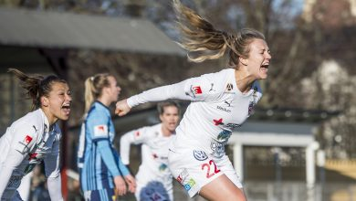 Photo of Fiona Brown fixade fjärde raka finalen för FC Rosengård