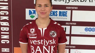 Photo of Jenny Carlson klar för Ringkøbing