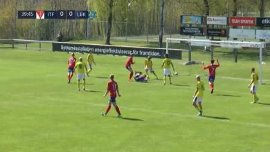 Photo of TV: Sammandrag från Tvååker – Lunds BK