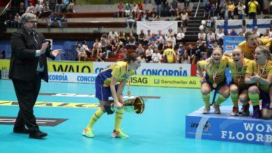 Photo of Malmö FBC-spelare kapten när Sverige vann VM-guld