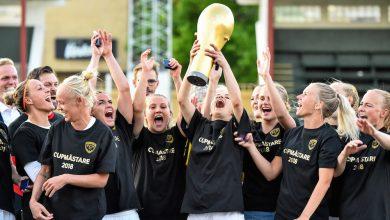 Photo of FC Rosengård cupmästare