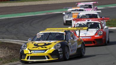Photo of Gustav Malja drar igång Porsche Supercup i Barcelona