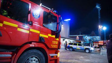 Photo of Misstanke om anlagd brand på Fair play-stadion