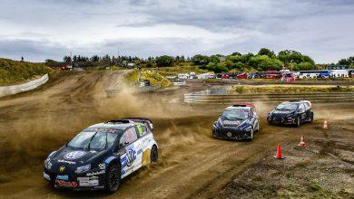 Photo of Finalplatsen försvann för William Nilsson i RallyX Nordic