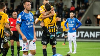 Photo of Häcken övermäktigt tappert TFF