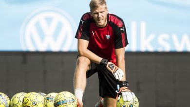 Photo of Fredrik Andersson fick släppa in fem mål i comebacken i MFF U21