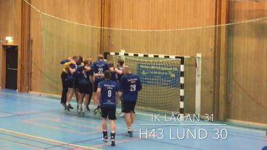 Photo of Webb-TV: IK Lågan tog femte raka segern – 31-30 mot H43