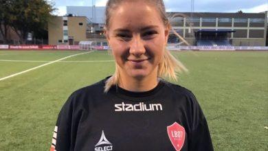 Photo of LB07:s Saga Hagman inför landslagsäventyret
