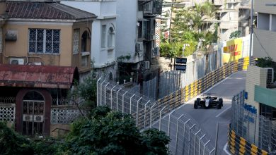 Photo of Joel Eriksson kör Formel 3-VM i Macau
