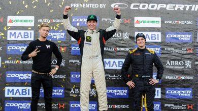 Photo of Ny SM-medalj för William Nilsson – och fyra i RallyX Nordic