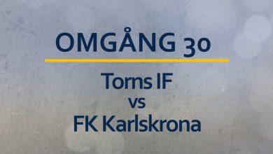 Photo of TV: Oavgjort för Torns IF mot Karlskrona
