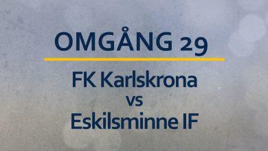 Photo of TV: Kval till Superettan lever än för Eskilsminne