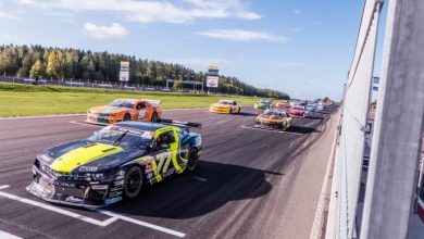 Photo of V8 Thunder Cars inleder på Ring Knutstorp