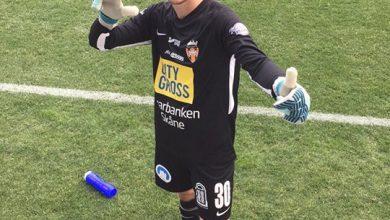 Photo of Joel om Kristianstads FC:s första träningsmatch för i år.