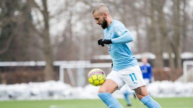Photo of Två mål och ett rött kort för Molins i MFF:s 5-1-seger