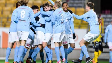 Photo of MFF tar med sig U17-laget till London