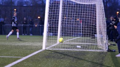 Photo of Jacob Ondrejka, 16 åringen blev dagens målskytt i BoIS matchen