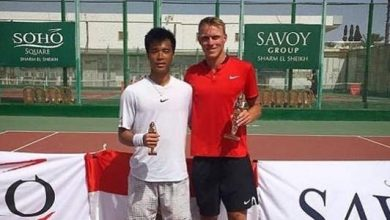 Photo of Filip Bergevi tog karriärens första titel på ITF-touren