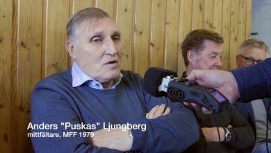 Photo of Sex MFF-legendarer träffades för att spela in Blått snack