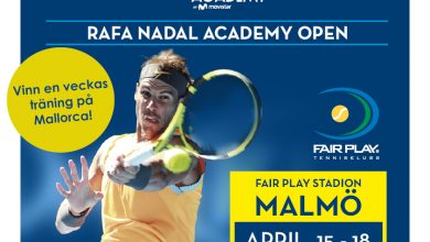 Photo of Fair Play TK samarbetar med Rafa Nadal Academy i ny tävling