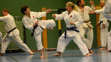Photo of Bildspecial: Träning hos Hörby Karateklubb