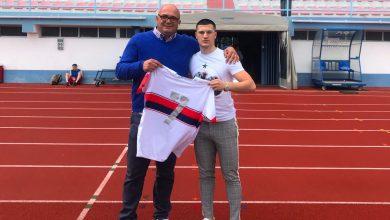 Photo of BOMBEN: Simrishamntalangen Arben Sfishta klar för klubb i Portugal