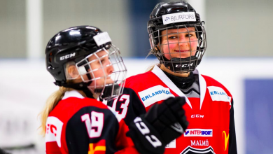 Photo of Redhawks damtrupp presenterad – tre nya namn in