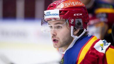 Photo of Anton Öhman har spelat färdigt i Malmö Redhawks