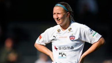 Photo of Hailie Mace stannar hela säsongen i FC Rosengård