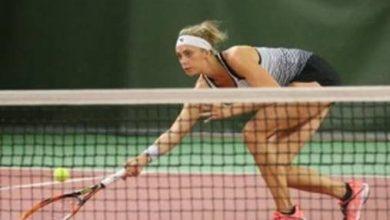Photo of Cornelia Lister nära första WTA-titeln