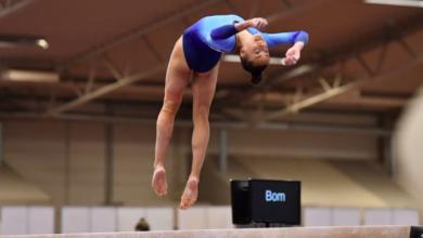 Photo of Tonya Paulsson tog guld på hemmaplan på SM i kvinnlig artistisk gymnastik