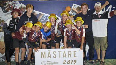 Photo of LUGI:s tolvåringar tog guld på Åhus Beachhandboll Festival