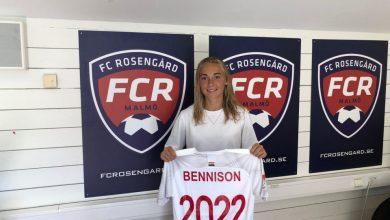 Photo of Hanna Bennison förlänger med FC Rosengård