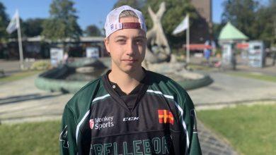 Photo of Förre Redhawksjunioreren Oliver Persson klar för Trelleborg Vikings