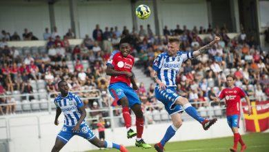Photo of IFK Göteborg för HIF på Olympia