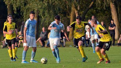 Photo of Kristianstad FC för MFF i DM-semifinalen