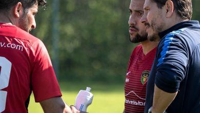 """Photo of Erol Bekir i Ariana FC """"Är mina killar på hugget så skall det mycket till för att slå oss"""""""