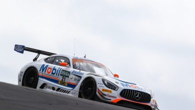 Photo of Jimmy Eriksson börjar hitta farten i ADAC GT Masters