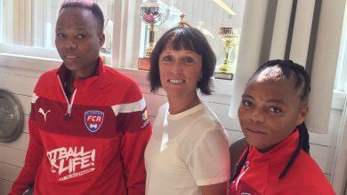 Photo of Sydafrikanskt besök hos FC Rosengård hyllade Football for Life
