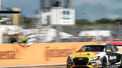 Photo of Tobias Brink tvåa och Brink Motorsport etta inför finalen i TCR Scandinavia
