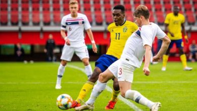 Photo of U21-landslaget möter Island på Olympia
