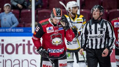 Photo of Redhawks Carl Persson frias av disciplinnämnden