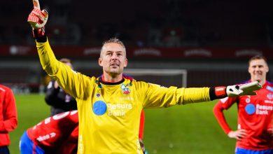 Photo of Daniel Andersson tränar med Ekeby GIF