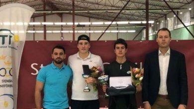 Photo of Belgare och spanjorska vinnare i Malmö Open