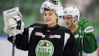 Photo of Talangfull målvakt till Jonstorp Hockey