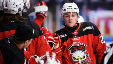 Photo of Rekord för Redhawks i NHL-draft