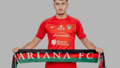 Photo of Talangen Walid Ali klar för Ariana FC