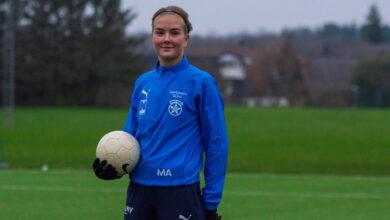Photo of Hallå där….skyttedrottningen Maja Anderson i Sjöbo IF